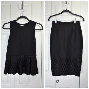 H&M Top + Skirt Set